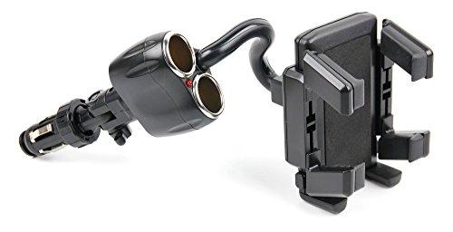 duragadget-non-shake-cigarette-lighter-mount-for-htc-inspire-4g-a9192-sony-xperia-xperia-e1-wilko-ci