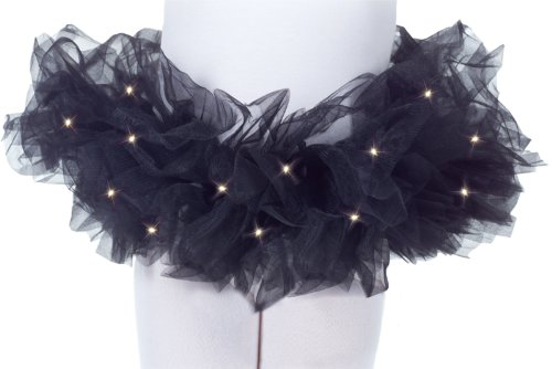Children'S Tutu: Black, Light Up *** Product Description: Layers Of Black Tul...