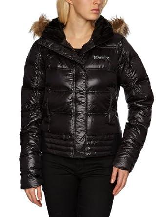 土拨鼠Marmot Women's Helsinki 女士赫尔 650蓬抗风温暖羽绒服紫色$185.63