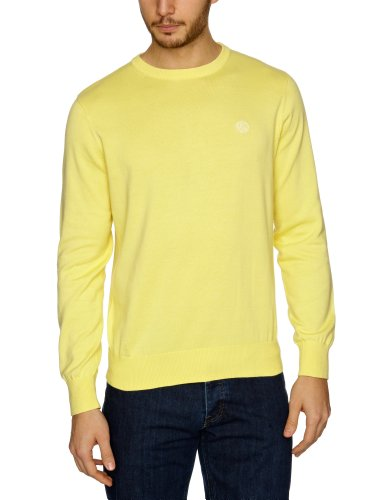 Henri Lloyd Moray Crew Knit Men's Jumper Soleil Large