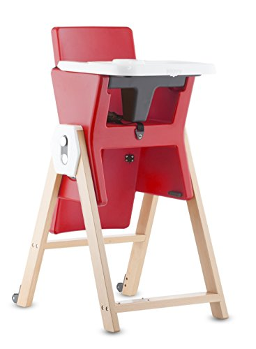 Joovy HiLo Highchair, Red - 1