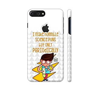 Colorpur Scientist And Science Puns Designer Mobile Phone Case Back Cover For Apple iPhone 7 plus with hole for logo | Artist: Woodle Doodle