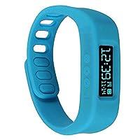 Bwatch Bluetooth 4.0 Smart Wrist Watch Health Bracelet Sports & Sleep Tracking Fitness-Blue from Bwatch
