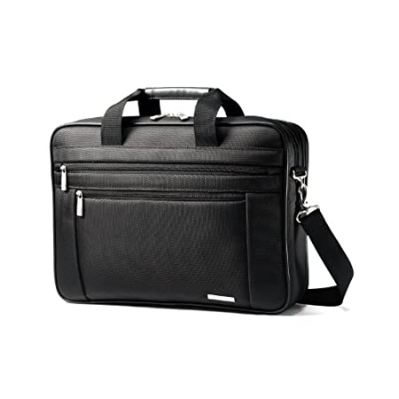 Samsonite Classic Business Two Gusset Laptop Bag - 15.6