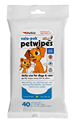 Petkin Petwipes Dogs and Cats(25% Free wipes - *Only For Limited Stocks)