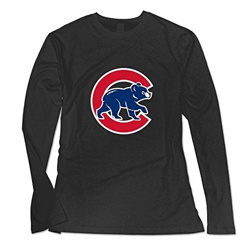 [Seico Women Chicago Cubs 2015 Mlb T-shirt Black Size L] (Cubs Fan Costume)
