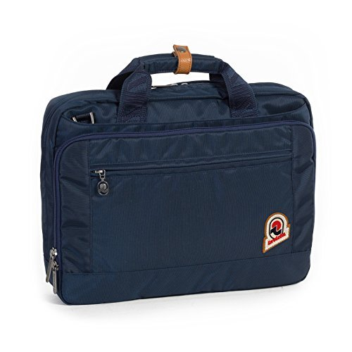 Borsa lavoro - INVICTA OFFICE 13'' Blue - porta pc e tablet fino a 13'' - Rain Cover