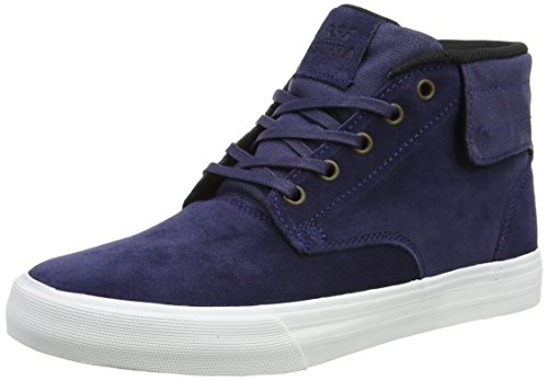Supra PASSION, Sneaker alta Unisex - adulto, Blu (Blau (NAVY - OFF WHITE   NVY)), 45