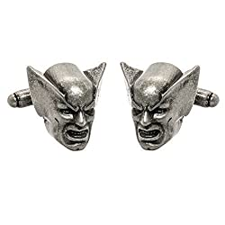 Marvel Comics Mens Superhero 3D Cufflinks w/ Gift Box (Wolverine)