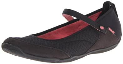 Teva Women's Niyama W Flip Flop,Black,5 M US