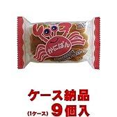 【ご注意ください!1ケース納品です】三立製菓 かにぱん 2枚×9個入