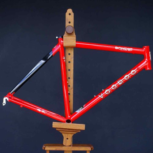 Voodoo Cycles Bondye Scandium Carbon Road Bike Frame Red 58cm