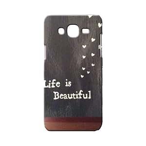 BLUEDIO Designer 3D Printed Back case cover for Samsung Galaxy A7 - G6558
