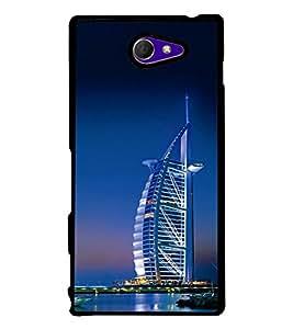 Burj Al Arab Back Case Cover for SONY XPERIA M2