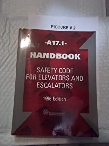Amazon.com: Handbook A17.1: Safety Code for Elevators and Escalators 1996 (9780791824337): Books