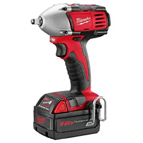 Milwaukee 2651-22 18-Volt M18 3/8-Inch Compact Impact Wrench with Ring