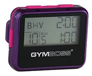 Amazon.com: Gymboss Interval Timer and Stopwatch - VIOLET / PINK