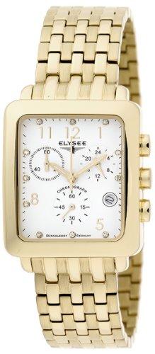 Elysee Damen-Armbanduhr Analog Edelstahl beschichtet 13194