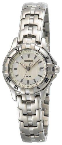 Seiko Women's SXDA29 Dress Silver-Tone Watch