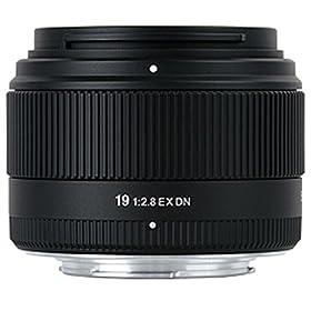 シグマ 19mm F2.8 EX DN ソニーEマウント用 デジタル専用 単焦点 広角 19mm F2.8 EX DN SE