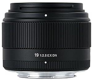 Sigma 19 mm F2,8 EX DN-Objektiv (46 mm Filtergewinde) für Micro Four Thirds Objektivbajonett