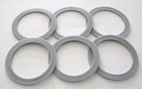 6 Pack Oster/Osterizer Blender Blade Sealing Ring Gaskets (Osterizer Seal Ring compare prices)