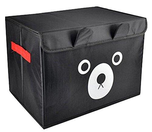 Spinning boîte de rangement boîte à gants Box In Box-princesse ours noir