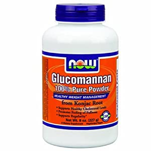 NOW Foods - Glucomannan Powder 100% Pure - 8 oz - Powder