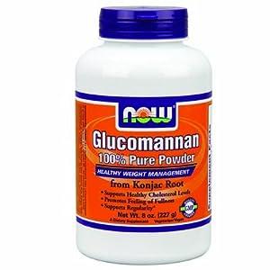 NOW Foods - Glucomannan Powder 100% Pure - 8 oz - Powder