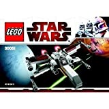 41yPy%2BoGgWL. SL160  LEGO Star Wars Exclusive Mini Building Set #30051 XWing Starfighter Bagged