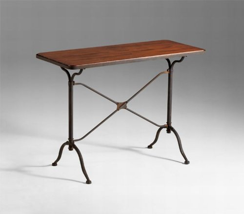 Cheap Sydney Industrial Loft Contemporary Iron Wood Metal Console Table (B005XOJAOU)