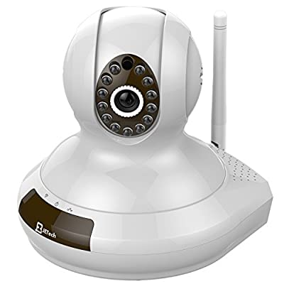 JETech Wireless Surveillance Home Monitoring, Two-Way Audio and Night Vision Pan/Tilt IP Camera