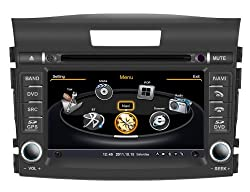 See SDB Car DVD Player With GPS Navigation(free Map) For Honda CR-V 2012 Audio Video Stereo System with Bluetooth Hands Free, USB/SD, AUX Input, Radio(AM/FM), TV, Plug & Play Installation Details