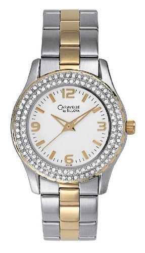 Caravelle Crystal Women's Watch 45L98