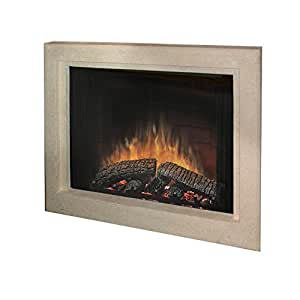 Dimplex 39 In Stone Surround Built In Electric Fireplace Multicolor Bf39dxp Bsstn