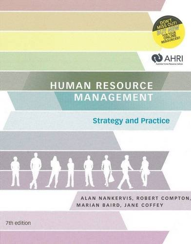 HUMAN RESOURCE MANAGEMENT - STRATEGY & PRACTICE