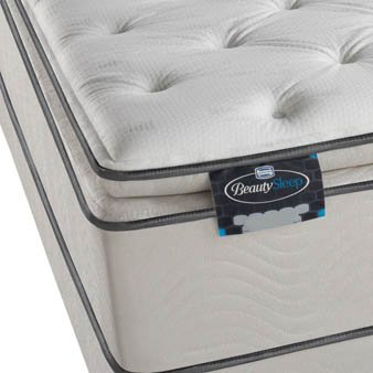 Beautysleep Rossi Plush Pillow Top Mattress Size: Full front-1041292