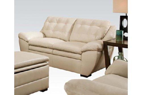 Devyn Loveseat in White by Acme Furniture