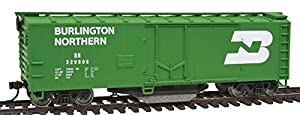 Walthers Trainline 40' Plug-Door Track Cleaning Boxcar Burlington Northern 329808