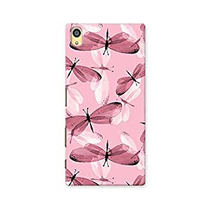 ArtzFolio Butterflies : Sony Xperia Z5 Matte Polycarbonate ORIGINAL BRANDED Mobile Cell Phone Protective BACK CASE COVER Protector : BEST DESIGNER Hard Shockproof Scratch-Proof Accessories