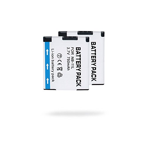 teqin-2-nb-11l-750mah-37v-ricaricabile-agli-ioni-di-litio-pacco-batteria-canon-powershot-a2300-is-a2