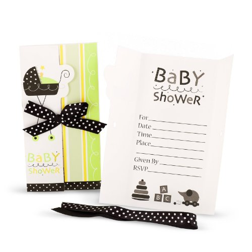 Unisex Baby Shower Invitations