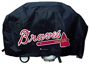 Atlanta Braves Deluxe Grill Cover by Rico