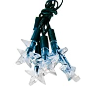 Blue-white Stars Solar LED String Lights - Solar Lights for Yard or Patio Product SKU: SO10138