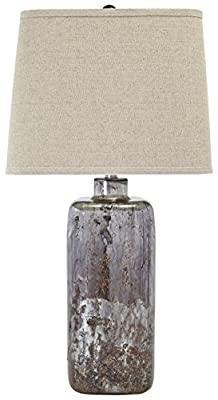 Ashley Furniture L430044 Shanilly Contemporary Table Lamp, Multicolored