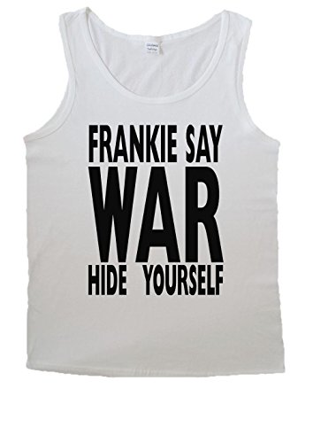 Frankie Say War Hide Yourself Peace For Men Vest Tank