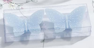 Set2 Butterfly Floating Candles -blue by LILLIAN ROSE