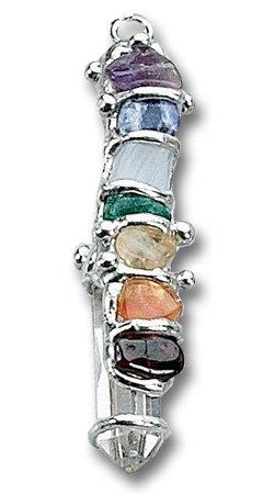 The Chakra Baby Wand Pendant