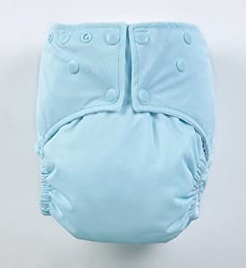 Seaspray Snap Easy Clean Pocket One Size Cloth Diaper by Mommy's Touch with Microfiber Insert