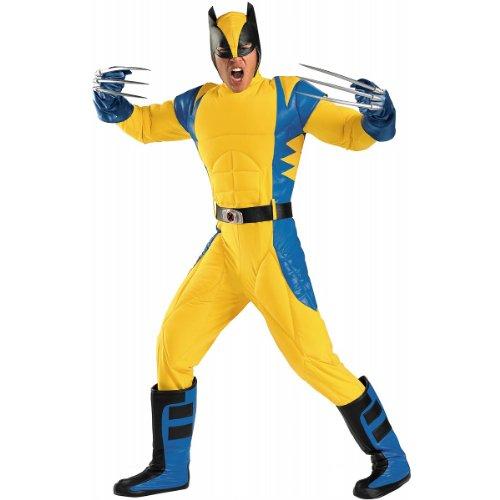 X Men Origins Costume   X Large   Chest Size 42 46